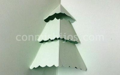 Tarjeta de felicitacin de Navidad Manualidades para nios