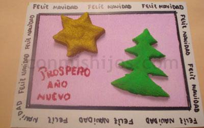tarjetas y christmas de navidad para nios paso
