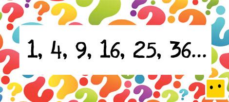 4f308b6a8 Números cuadrados. Serie matemática para niños