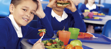 La dieta de los ni os en el comedor escolar for Dibujo de comedor escolar