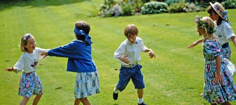 La Gallinita Ciega Juegos Populares Para Niños