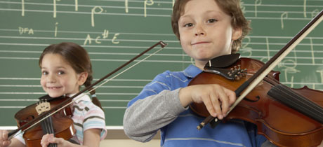 Aprendiendo violin