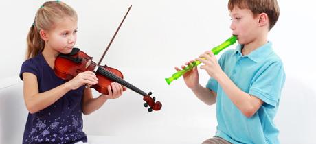 A los niños con altas capacidades les resulta muy fácil aprender un instrumento musical