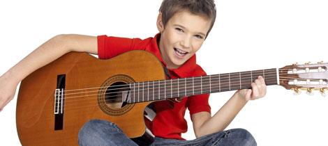 Instrumentos Musicales Para Niños La Guitarra