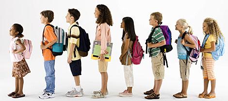 Consecuencias del exceso de peso de las mochilas escolares