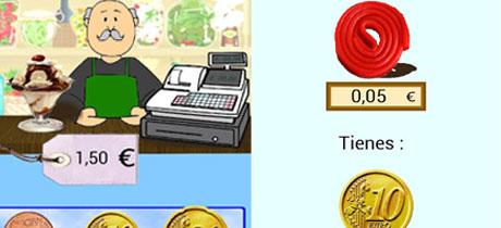 Resultado de imagen de euros y centimos para niños