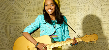 China Anne McClain es Chyna Parks en ANT Farm