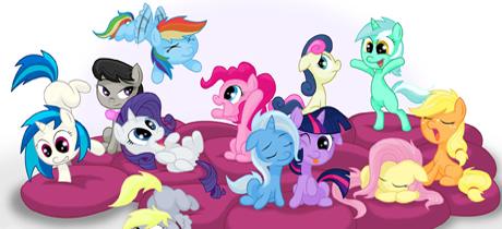 My Little Pony la magia de la amistad Serie infantil en Disney