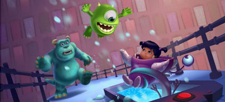 Juego para Ipad e Iphone Monsters Inc Run