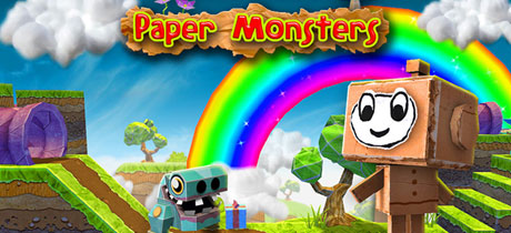 Juego para niños Paper Monsters para Android, Iphone y Ipad