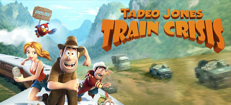 Juego de Ipad e Iphone para niños Tadeo Jones Train Crisis
