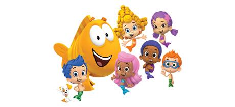 Bubble Guppies. Serie de dibujos animados para niños en ClanTV