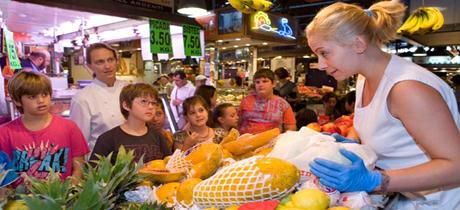 Talleres de cocina para ni os en el mercado de la boqueria - Taller cocina barcelona ...