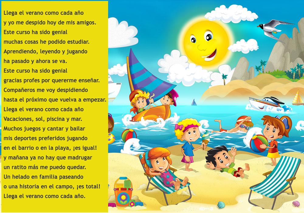 Canción Verano para niños