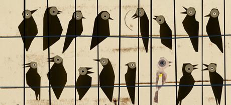 El pájaro enjaulado