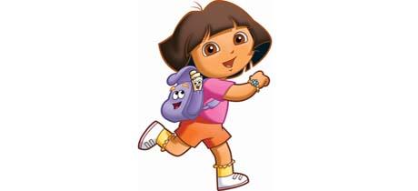 Dora Cocina | Personajes De La Serie De Television Dora La Exploradora Mapa Y Mochila
