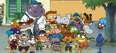 Los superminihéroes. Serie para niños en ClanTV