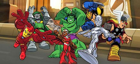 Avengers Serie Infantil De Los Vengadores En Disney Xd