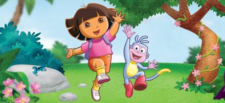 Dora la exploradora serie de dibujos infantil en clan tve