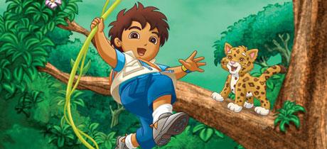 Go Diego Go Series De Dibujos En Nick Jr Para Los Peques
