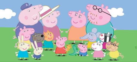 Peppa Pig. Serie de dibujos infantil en Clan TVE