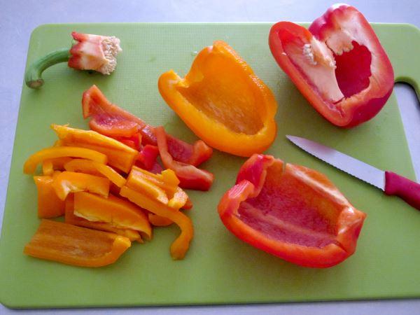 Receta infantil de gazpacho casero paso 7