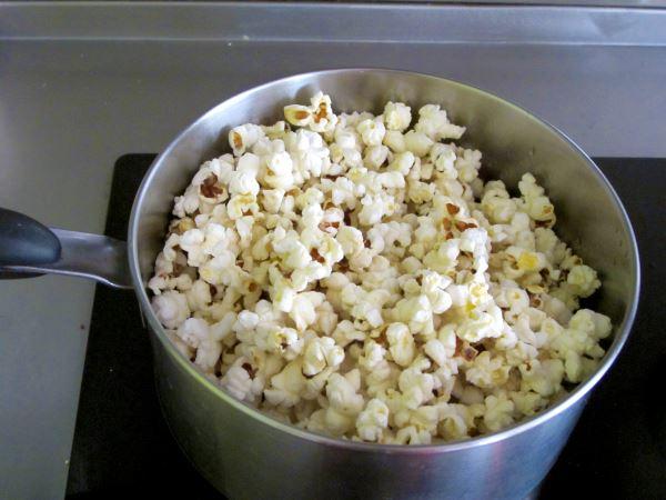 Receta de palomitas caseras con caramelo - Como hacer palomitas de caramelo caseras ...