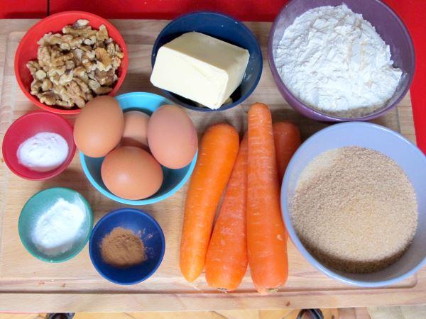 Receta de pastel de zanahorias para cocinar con ni os for Cocinar imagenes animadas