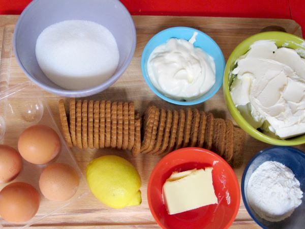 Pastel De Queso Con Galletas Recetas Faciles Para Ninos - Pasteles-faciles-para-nios