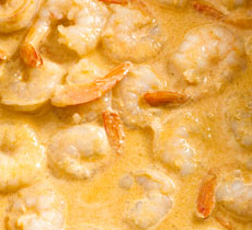 Receta arroz con gambas y curry. Paso 3.