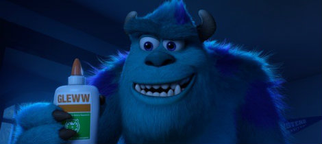 Sulley. Personaje de Monstruos University
