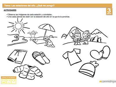 Actividades Para Ninos de 3 Anos 3 a os Actividades de Las