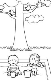 Ficha de evaluación de matemáticas para niños