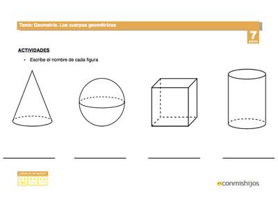 Reconocer Figuras Geometricas Ficha Escolar Para Ninos