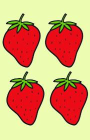 Cuenta las frutas Ficha para repasar el nmero 10