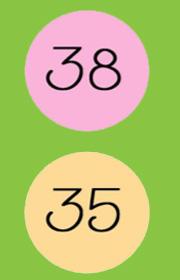 Ficha Para Repasar Los Números Del 30 Al 39 Con Los Niños