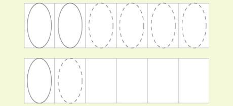 Ejercicios De Formas Planas Y Geométricas Para Niños Por Edades