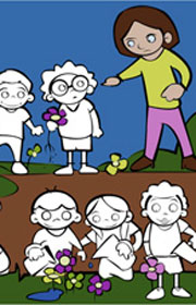 Cómo Cuidar Nuestras Plantas Ficha Escolar Para Niños