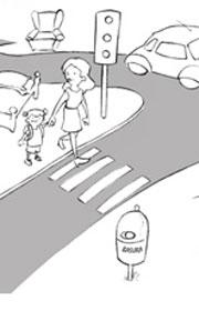 Qué Hay En Una Calle Ficha Del Medio Físico Para Niños