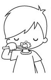 Nos Lavamos Los Dientes Ficha Escolar De Autonomía Personal