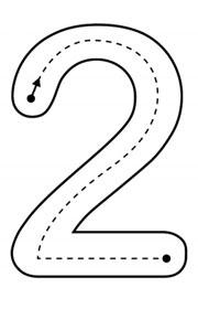 Ficha Escolar De Matemáticas Te Presento Al Número Dos