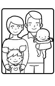 Tipos De Familia Fichas Escolares De Vida En Sociedad