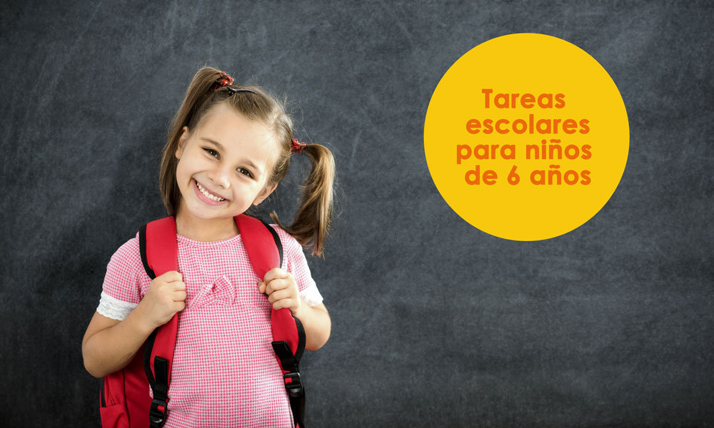 Tareas escolares para niños de 6 años